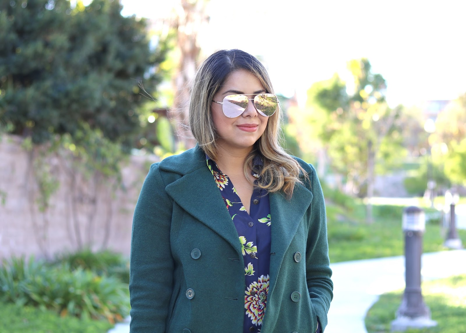cabi sweater pea coat, san diego style blogger, latina fashion blogger