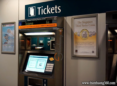 General Ticketing Machine Singapore (GTM)