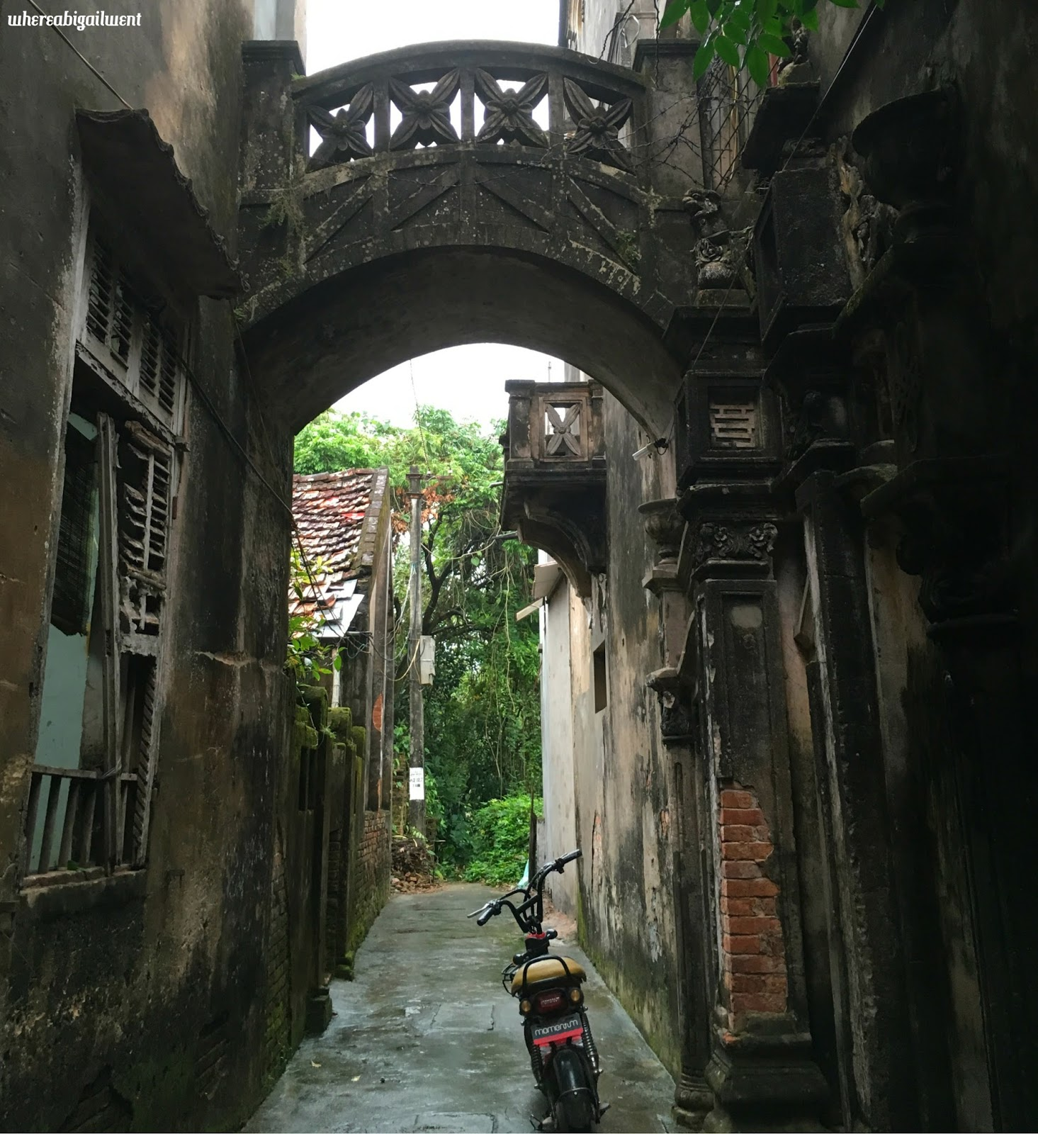 The road less travelled Hanoi