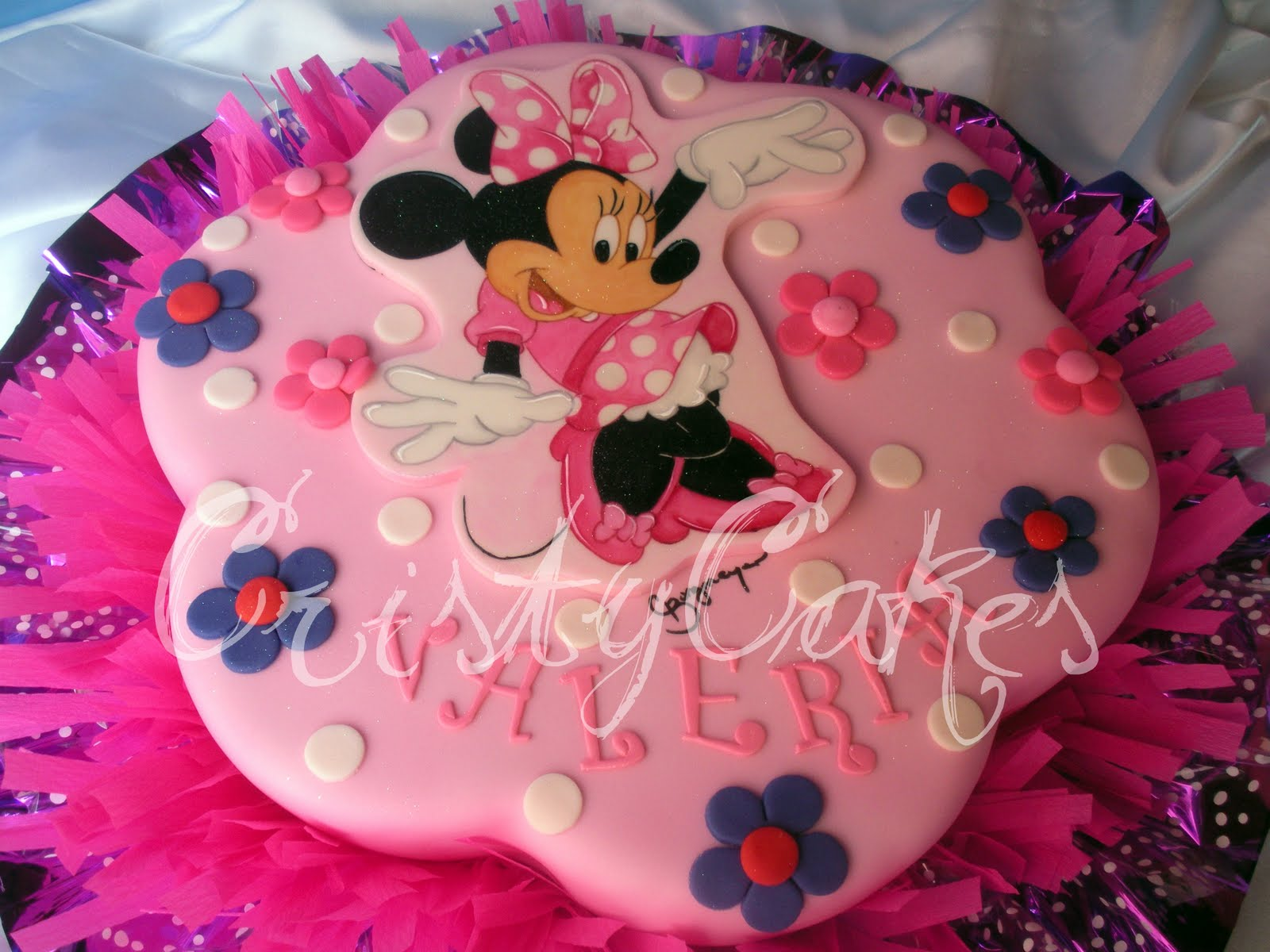 Tortas Decoradas Con Minnie Mouse Tortas Infantiles