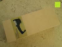 Verpackung vorne: E-PRANCE® Messerschärfer Messerschleifer Knife Sharpener mit 3 Stufen