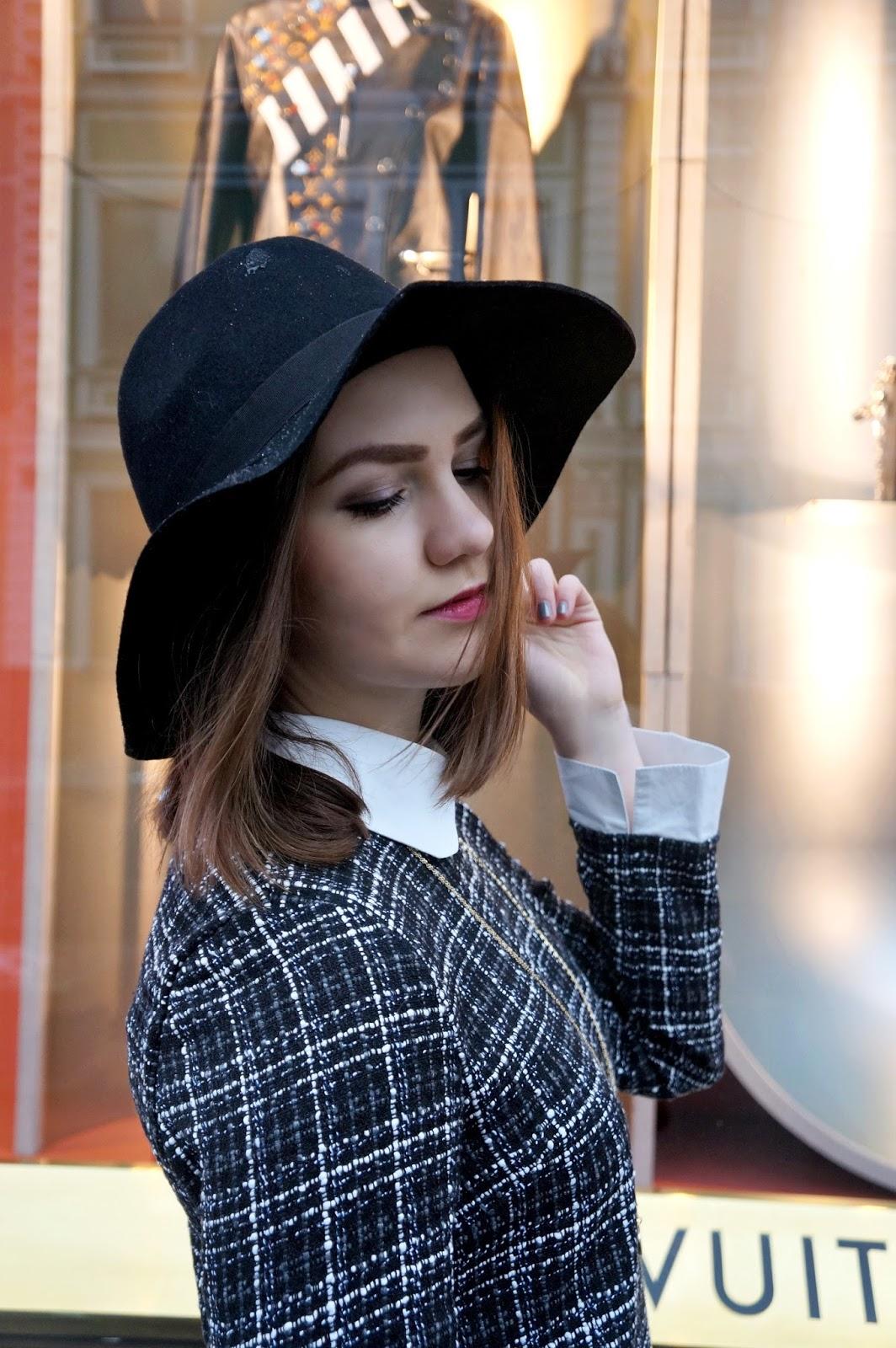 Fashion Blogger | Alina Ermilova | Fedora