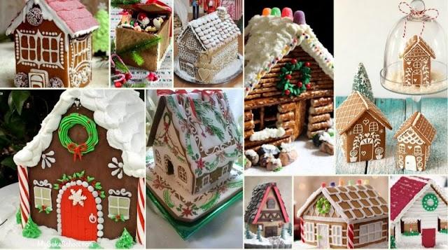 Πως θα φτιάξετε Μπισκοτόσπιτα (Gingerbread Houses)