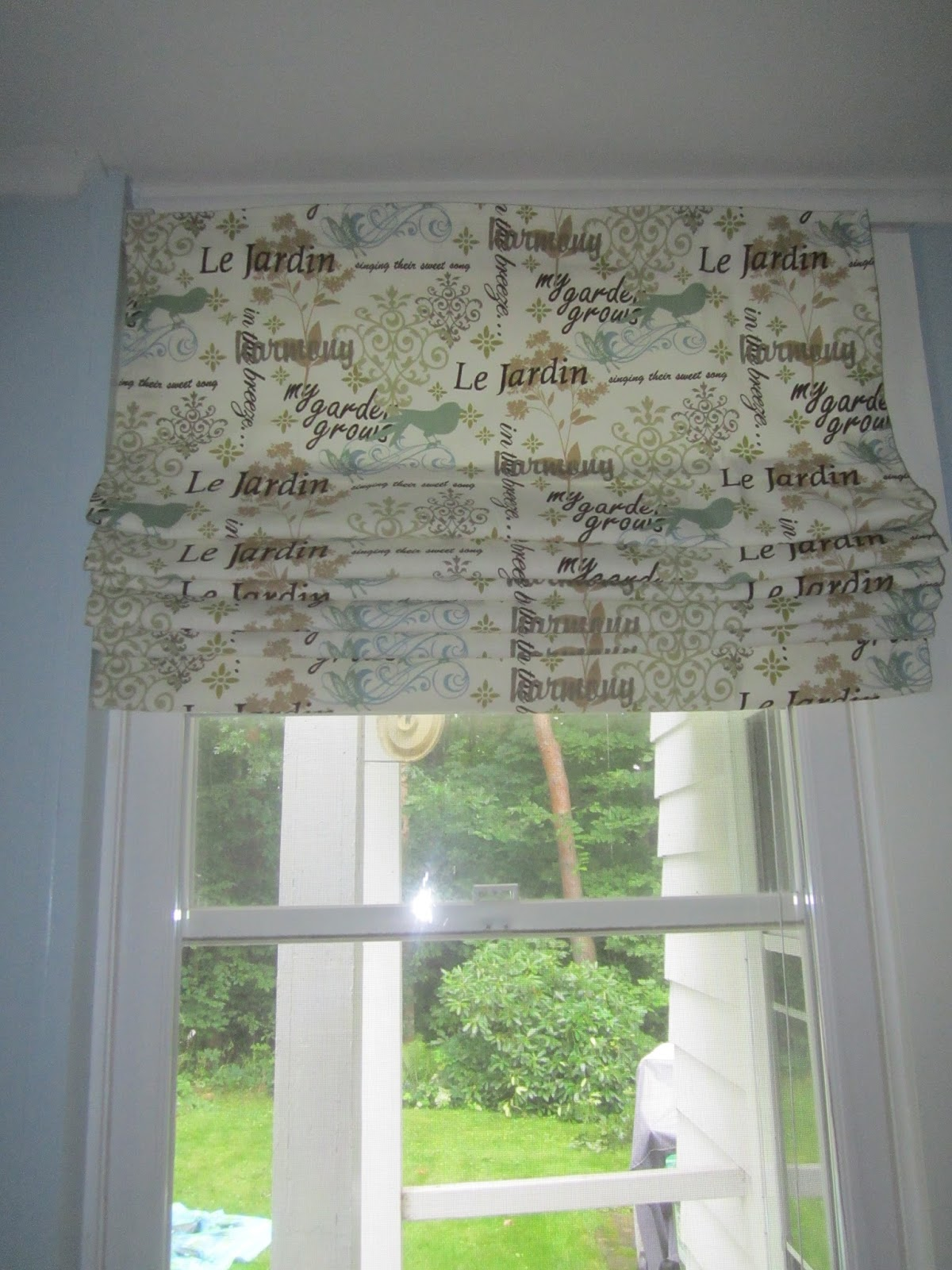 Because It S Saturday Diy Roman Shades
