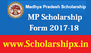 MP Scholarship Form 2017-18