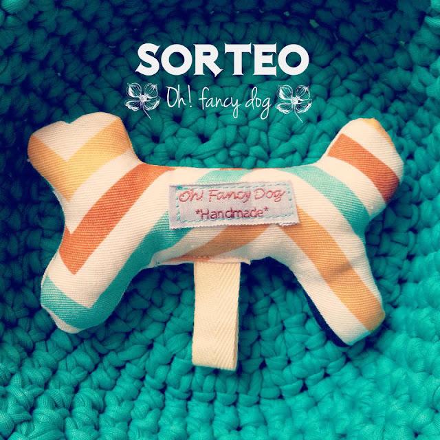 hueso de juguete para perro hecho a mano por oh! fancy dog