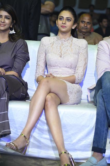 Rakul Preet Singh Hot Stills at Malli Raava Movie Pre Release Event