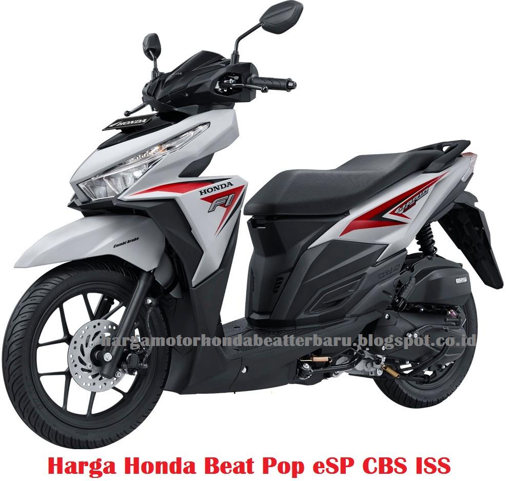 Honda beat pop cbs iss