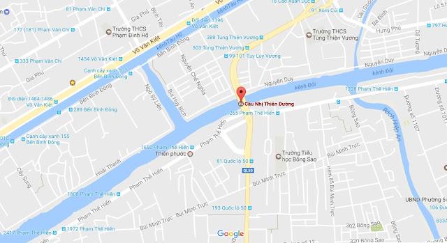 Bán nhà mặt tiền đường Phạm Thế Hiển phường 6 quận 8