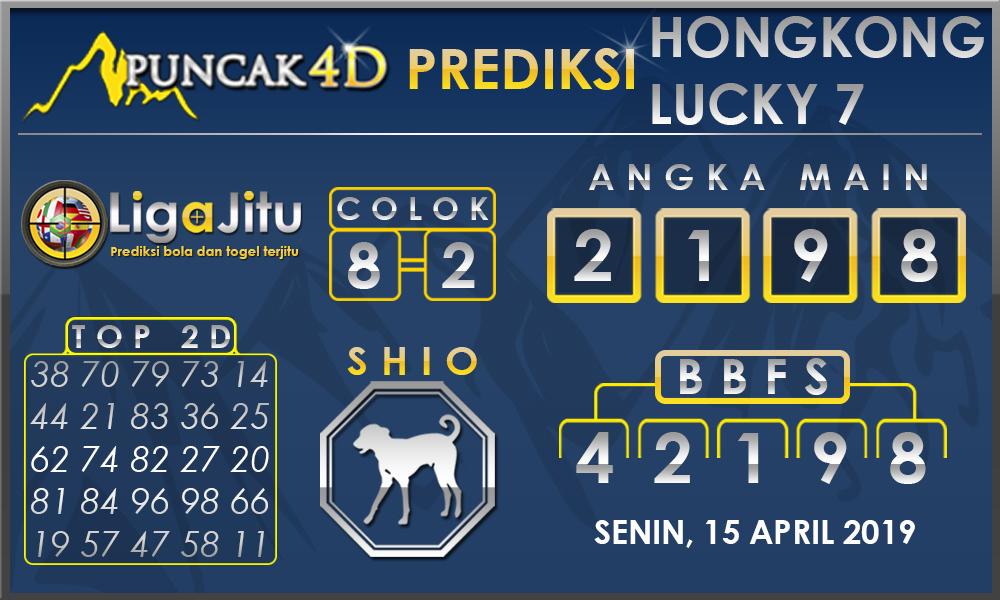PREDIKSI TOGEL HONGKONG LUCKY7 PUNCAK4D 15 APRIL 2019