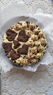 Ciasto daktylowe z nutą pomartańczy