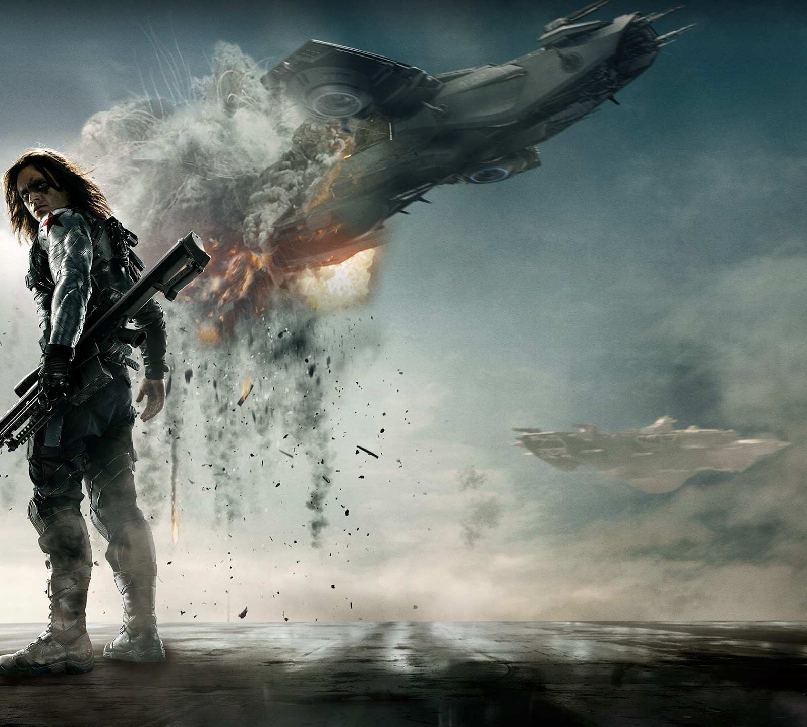 FreeWall captain america the winter soldier wallpapers