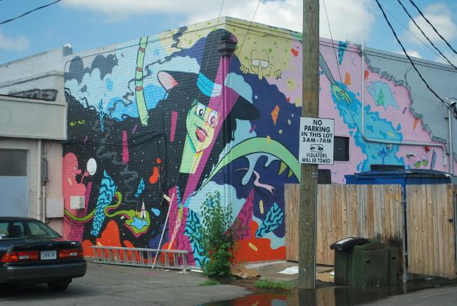 RVA Street Art: Mickael Broth and Welcoming Walls   Yeti Crafts
