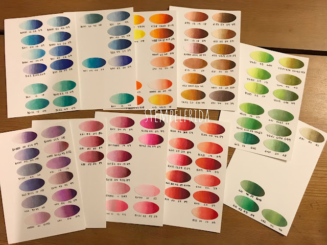 Stempelfrida´s Copic Colour Combinations