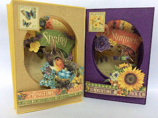 Spring & Summer Tunnel Cards Graphic 45