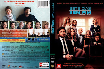 Filme Sete Dias Sem Fim (This Is Where I Leave You) DVD Capa