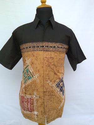 Model Baju Batik Modifikasi Pria Terbaru