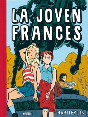 La joven Frances, obra de Hartley Lin - edita Astiberri