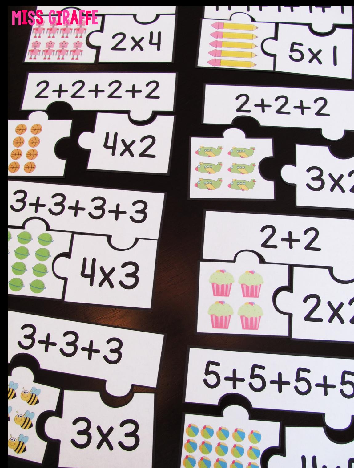small resolution of Miss Giraffe's Class: How to Teach Arrays