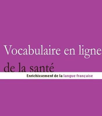 Vocabulaire de la santé PDF