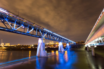 High Level Bridge Edmonton by Laurence Norah-2