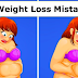 These Are The 5 Most Common Mistakes We Make In Losing Weight