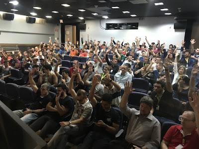 Em Campinas, profissionais da TI NECT aprovam renovação da PLR