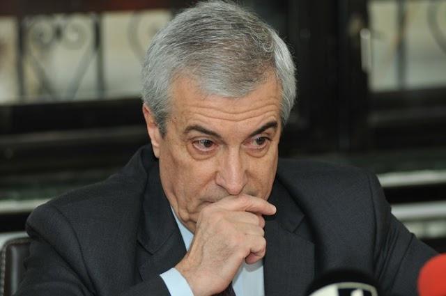Kenőpénz elfogadásával gyanúsítja a román korrupcióellenes ügyészség Calin Popescu Tariceanu szenátusi elnököt