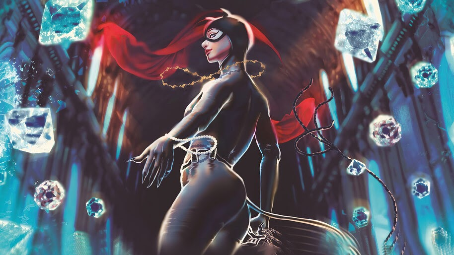 Catwoman, DC, 4K, #6.2389