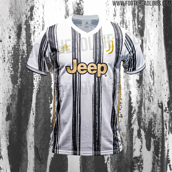 Adidas Juventus 20 21 Home Kit Prototype Vs Final Product Footy Headlines
