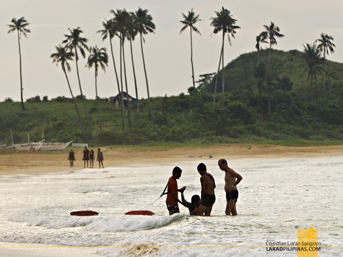 El Nido Nacpan Beach Palawan Drowning Rescue