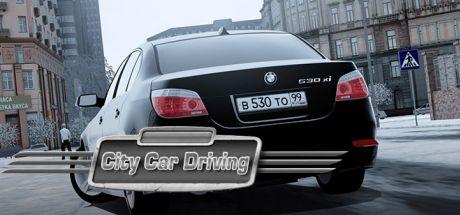 تحميل لعبة city car driving من ميديا فاير للاندرويد