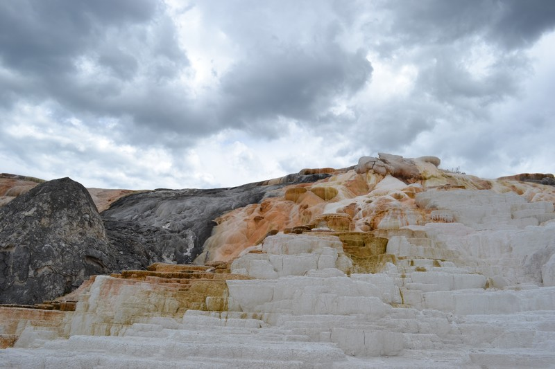 Yellowstone, Wyoming, usa, parc, Mammoth Hot Springs