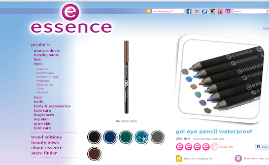 Essence Gel Eye Pencil Waterproof in Cocoa Bean Review