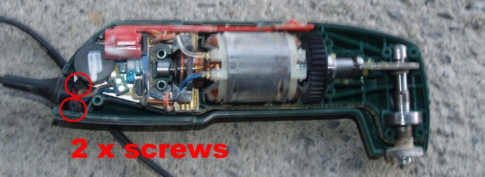 jb service: bosch pmf 180e and pmf 190e multi tool, 230vac