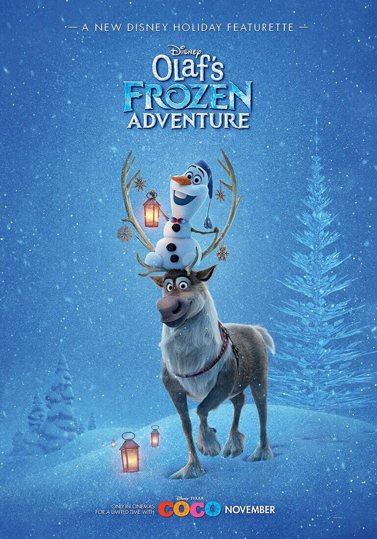 Frozen Christmas Special.A Look At Disney Christmas Olaf S Frozen Adventure Manic