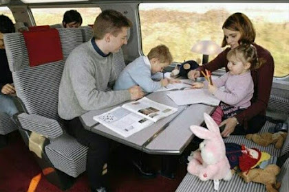 Tips Nyaman Membawa Anak Travelling Naik Kereta