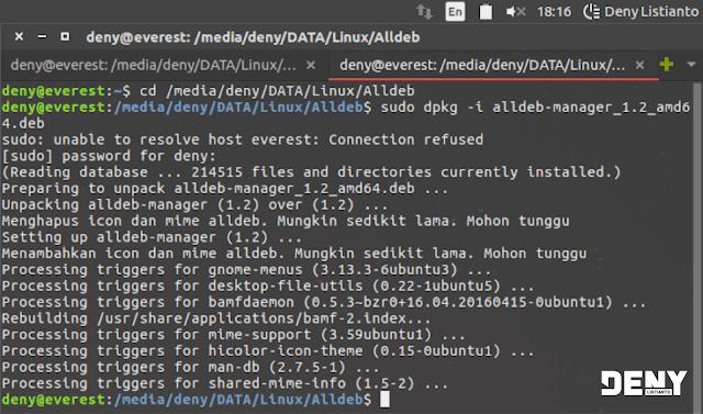 Installasi Alldeb Manager di Linux Ubuntu