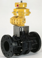 Kinetrol Actuator on Thermoplastic Valve