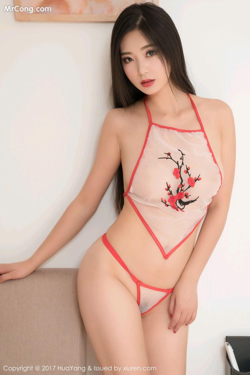Image HuaYang-2017-11-10-Vol.015-KiKi-MrCong.com-010 in post HuaYang 2017-11-10 Vol.015: Người mẫu 宋-KiKi (45 ảnh)