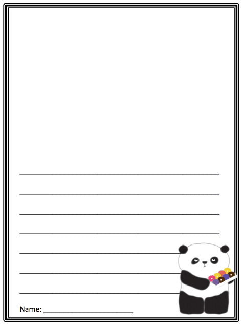 Please, Mr. Panda book review with free activities: Writing printable, two crafts, cute video. GradeONEderful.com
