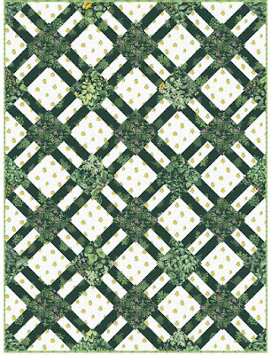 Quilt Inspiration Free Pattern Day Lattice And Woven Quilts