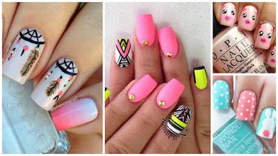 diseño-uñas-tonos-rosa