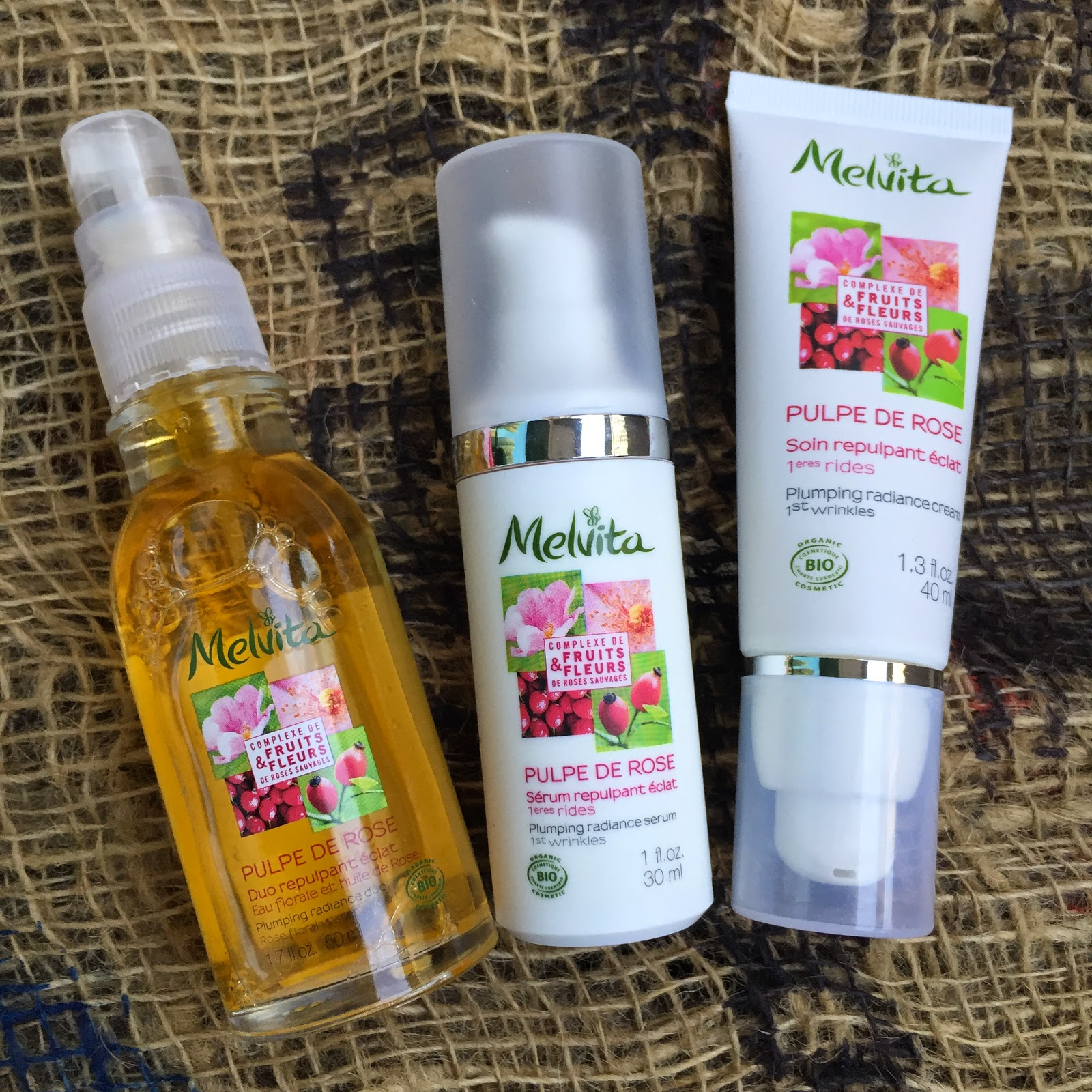 Makeup Secret: Melvita 有機花果亮肌護膚系列 (total 6 款產品 review)