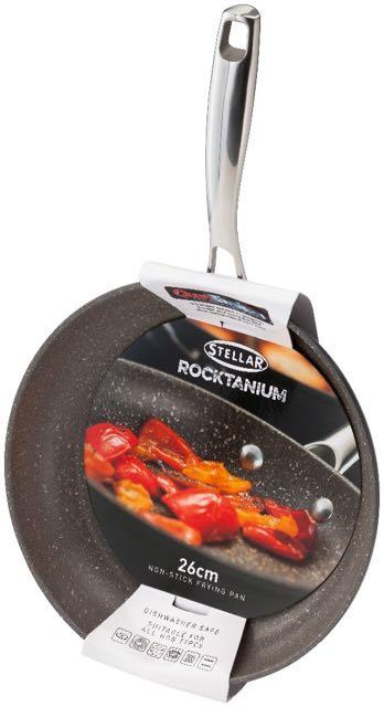 Stellar Cookware Rocktanium 26cm Fry Pan