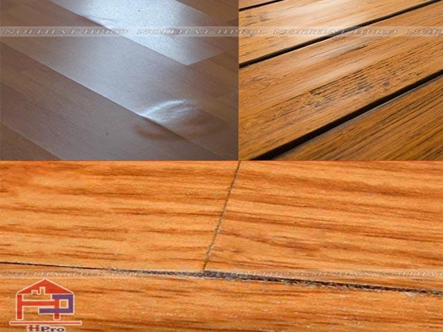 Nguyên nhân gỗ tự nhiên bị cong vênh, nứt nẻ