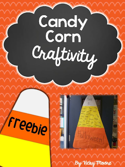 candy corn adjective freebie