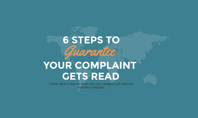 Get Your Complaint Read (In 6 Easy Steps)