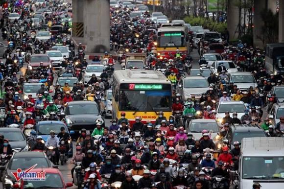 Hà Nội cấm xe máy: Giám đốc Sở quả quyết đã nghiên cứu kỹ ở Trung Quốc