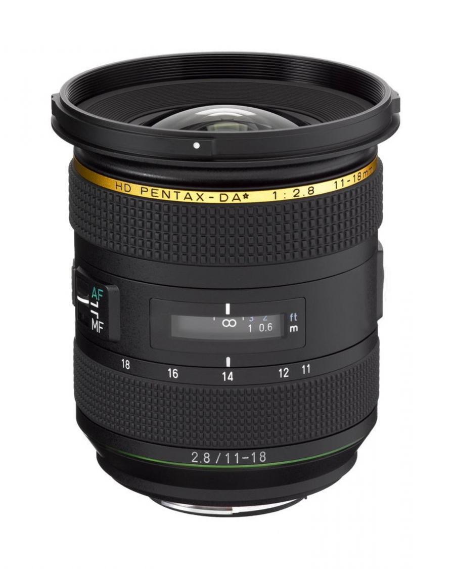 HD Pentax-DA 11-18mm f/2.8